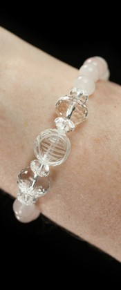 Longevity with Rose Quartz Bracelet
