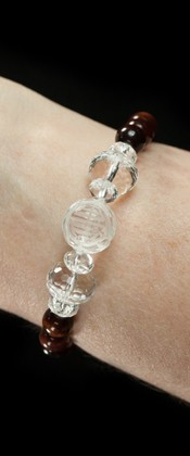 Longevity with Red Tiger Eye Bracelet