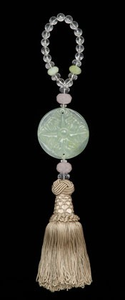 Crystal Tree of Life - Light Taupe