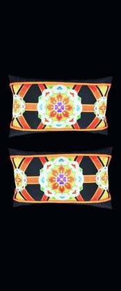 FLORAL MEDALLIONS PILLOW PAIR