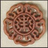 lotus flower medallion