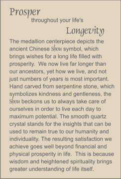 prosper throughout your life's longevity