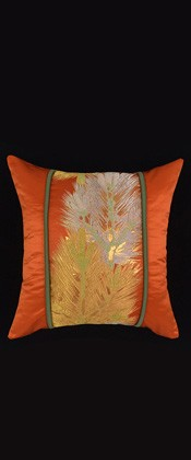 ORANGE PINE BRANCH   PILLOW