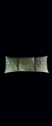 BAMBOO and GOLDEN NETTING LUMBAR PILLOW
