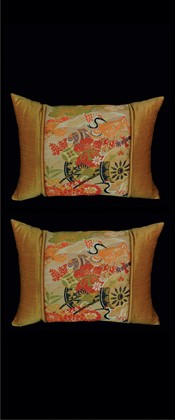FLOWER CART PILLOW PAIR
