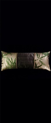 BAMBOO on  WAVING LINES LUMBAR PILLOW