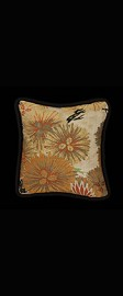 COPPER and GOLDEN PINES PILLOW