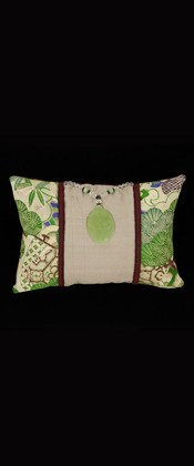 BRIGHT GREEN PINES PILLOW
