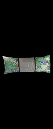BRIGHT GREEN PINES LUMBAR PILLOW