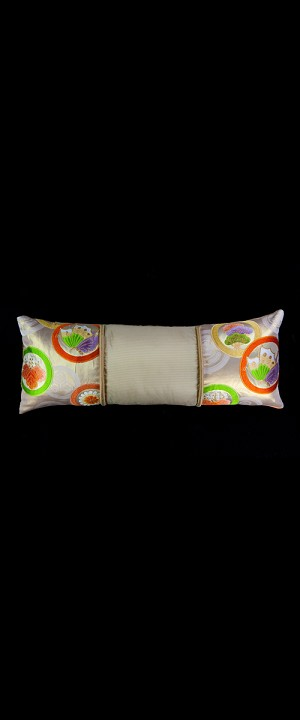 CASCADING CIRCLES with BUTTERFLY LUMBAR PILLOW