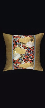 GOLD and SILVER KIRI PILLOW
