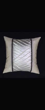 SILVER WAVES PILLOW