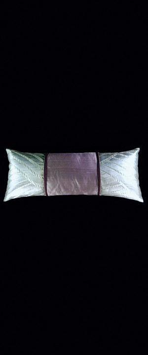 SILVER WAVES LUMBAR PILLOW