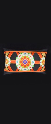 FLORAL MEDALLIONS PILLOW