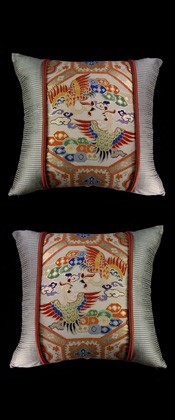 PHOENIX BIRDS FOR  LOVE PILLOW PAIR